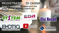 Esperienza ventennale nel settore del Registratore di cassa, misuratore fiscale, bilancia e sistema touch per il negozio, bar e ristorante. http://www.misuratorifiscali.com/