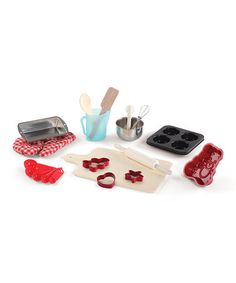 Another great find on #zulily! Cooking Essentials Baking Toy Set #zulilyfinds