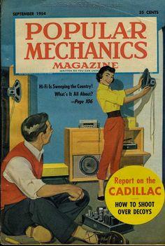 """What's All This Talk About Hi-Fi?"" (Popular Mechanics, Sept. 1954) - Retro Vintage Modern Hi-Fi"