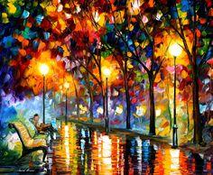 EVENING - PALETTE KNIFE Oil Painting On Canvas By Leonid Afremov http://afremov.com/EVENING-PALETTE-KNIFE-Oil-Painting-On-Canvas-By-Leonid-Afremov-Size-36-X30.html?bid=1&partner=20921&utm_medium=/vpin&utm_campaign=v-ADD-YOUR&utm_source=s-vpin