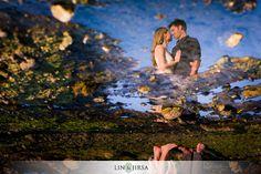 Beautiful Sunset Laguna Beach Engagement | Dane and Jessica