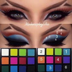 Makeup Ideas: 7 Steps to Great Makeup – Makeup Design Ideas How To Do Eyeshadow, Natural Eyeshadow, Natural Eye Makeup, How To Apply Makeup, Eyeshadow Makeup, Eyeshadows, Eyeshadow Steps, Makeup Goals, Makeup Inspo
