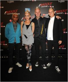 no doubt ~ I would love to be able to pull off Gwen's look here. Damn she's cool!