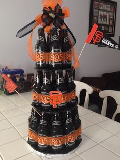 San Francisco Giants beer cake