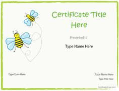 Education Certificate - Certificate for Participation in ...