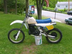 1984 Husqvarna 500CR, fresh top end, plastic partly restored, running good..pic #1