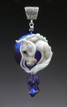 lampwork horse head - Google Search