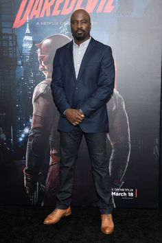 Mike Colter, Casual Outfits, Men Casual, Fictional Characters, Style, Swag, Casual Clothes, Fantasy Characters, Casual Styles