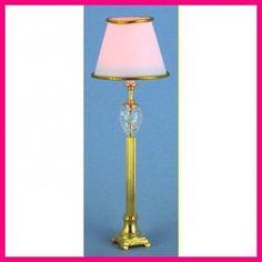 Lampadaire - 786A64 1/12ème #maisondepoupées #dollhouse #lampadaire #floorlamp #light #meuble #furniture #miniature