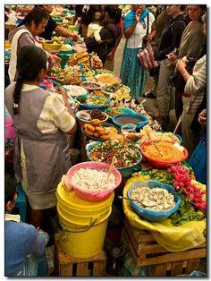 Delicious displays, Etla Market Oaxaca, Mexico.