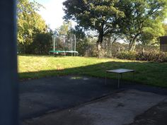 We are trying to raise funds to develop an outdoor play area