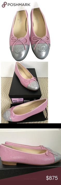 NEW!!!    CHANEL BALLERINES EU 38 MADE IN ITALY Gorgeous! Gorgeous!  Gorgeous!!!! CHANEL Shoes Flats & Loafers
