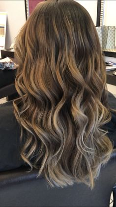 #balayage #balayagehighlights #color#caramelbraun#hair#modernhair#trends2017