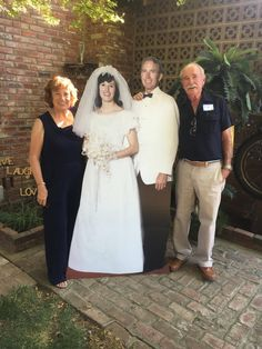 Wedding Anniversary Cardboard Cutout Decoration – Scan photo at 600 dpi – photo approval required before ordering – foot tall. 50th Wedding Anniversary Decorations, 30th Wedding Anniversary, Anniversary Photos, Anniversary Parties, Wedding Day, Gift Wedding, Wedding Photos, Anniversary Dinner, Ruby Wedding