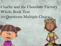 Charlie and the Chocolate Factory Book Test
