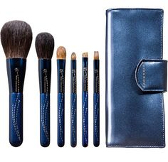 CDJapan : CHIKUHODO 2016 NOEL COLLECTION Azur Makeup Brush Collectible Eyebrow Brush, Lip Brush,