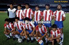 Na seleção Paraguaia de 1989, tinha 4 colorados, os titulares Fernandez, Zabala e Jacquet e o atacante reserva Brites, camisa 16, que foi vice campeão brasileiro pelo Inter em 1987.