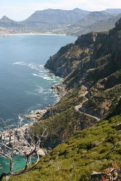 Awesome View At Chapman's Peak Drive, Cape Town