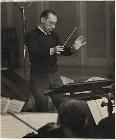 Igor Stravinsky, Berlin, 1929. Photo by Felix H. Man.