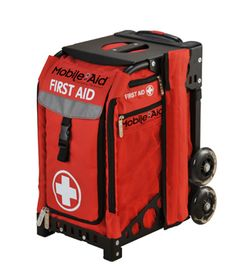 Emergency First Aid Kits are helpful for those who go to the hospital often.  See this video on general senior preparation:  http://aginginstride.org/emergencyprep/default.htm