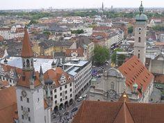Munchen, Germany Paris Skyline, Germany, Europe, Places, Travel, Architecture, Munich Germany, Viajes, Deutsch
