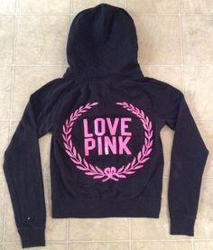 Victoria Secret PINK Sparkle Jacket Sz M / c #VictoriasSecret #TrackJacket