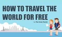 Traveling is often expensive but there's some really cool ways you can still see a lot of the world without it costing you much. Of course it will take some creative thinking and you will need to be willing to work for it, whether that be helping out on a farm of volunteering for charity. One popular way to get free housing among travel bloggers is house sitting. Why pay for a hotel when you can stay in someone else's house for free! Just have a look at the infographic for more tips.