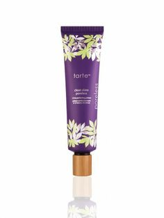 Tarte Clean Slate™ Poreless 12-hr Perfecting Primer - so smooth and feels like nothing is on your face. Perfect for blackheads too.