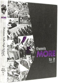 "Potomac Falls High School, 2013; I like this idea: what about ""More than Meets the Eye""?"