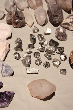 Pyrite, Amethyst, & Calcite