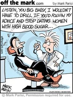This dentist put Dracula in his place!