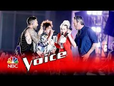 """Dream On"" from THE VOICE 2016 ~ Adam Levine, Alicia Keys, Miley Cyrus, and Blake Shelton. Nice performance!"