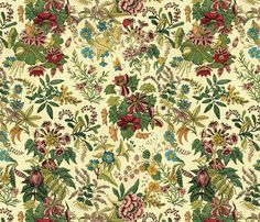 Becky Sharp fabric by peacoquettedesigns on Spoonflower - custom fabric