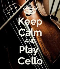 I laughed so hard at this! It says cello, but that is a violin in the back!! Ha!
