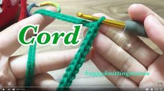 How to crochet a cord