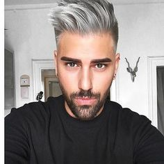 Men's Toupee Hair Hairpieces for Men inch Thin Skin Hair Replacement System Monofilament Net Base Mix Grey Hair) Mens Hairstyles Fade, Hairstyles Haircuts, Haircuts For Men, Medium Hairstyles, Wedding Hairstyles, Hair And Beard Styles, Short Hair Styles, Mens Toupee, Mens Hair Colour