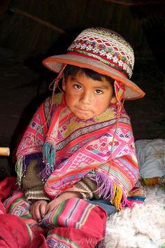 Niño peruano