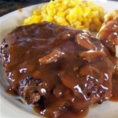 Slow Cooker Salibury Steak Recipe