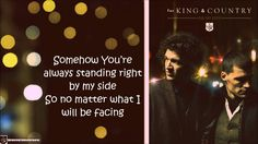 Steady [Lyrics] - for KING & COUNTRY