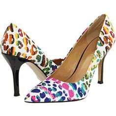 Nine West Flax White Multi Fabric - 6pm.com