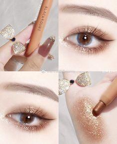 Edgy Makeup, Makeup Eye Looks, Soft Makeup, Kiss Makeup, Cute Makeup, Pretty Makeup, Makeup Art, Beauty Makeup, Korean Eye Makeup