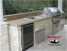 Big Ridge Austin 14' Outdoor Kitchen Package-Choose The Frame Kit DIY Level & Choose An Appliance Package-YOU Customize Your Package!, Big Ridge Outdoor Kitchens LLC