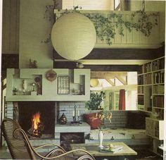 "Living Room from ""Golden Homes"" magazine c.1974"