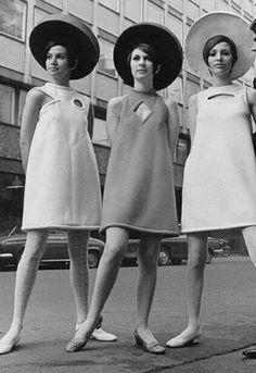 Resultado de imagen de años 60 moda mujer