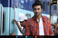 Oh that look in his eyes! Photo of Ranbir Kapoor in YJHD when he meets Deepika Padukone again in a railway station