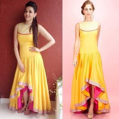The latest fashion Designer Kurtis are made with a combination of indo-western tunic & kurti designs among which the dhoti design kurtis are much in demand. Designer Bridal Lehenga, Simple Kurti Designs, Stylish Dress Designs, Designer Kurtis, Indian Dresses, Indian Outfits, Pretty Dresses, Sexy Dresses, Evening Dresses