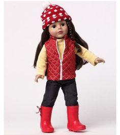 "Madame Alexander Let It Snow 18"" Doll"