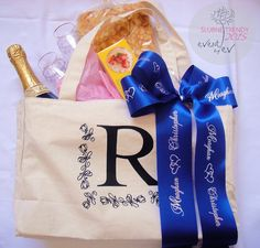 ślubne torby powitalne /wedding welcome bag