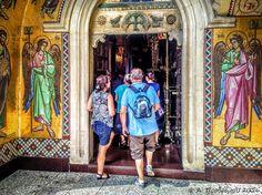 Ιερά Μονή Παναγίας του Κύκκου, Κύκκος, Λευκωσία, Κύπρος (Monastery of Our Lady of Kykkos, Kykkos, Nicosia, Cyprus).  Visit the post for more.