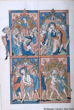 Psalter, MS M.302 fol. 2v - Images from Medieval and Renaissance Manuscripts - The Morgan Library & Museum